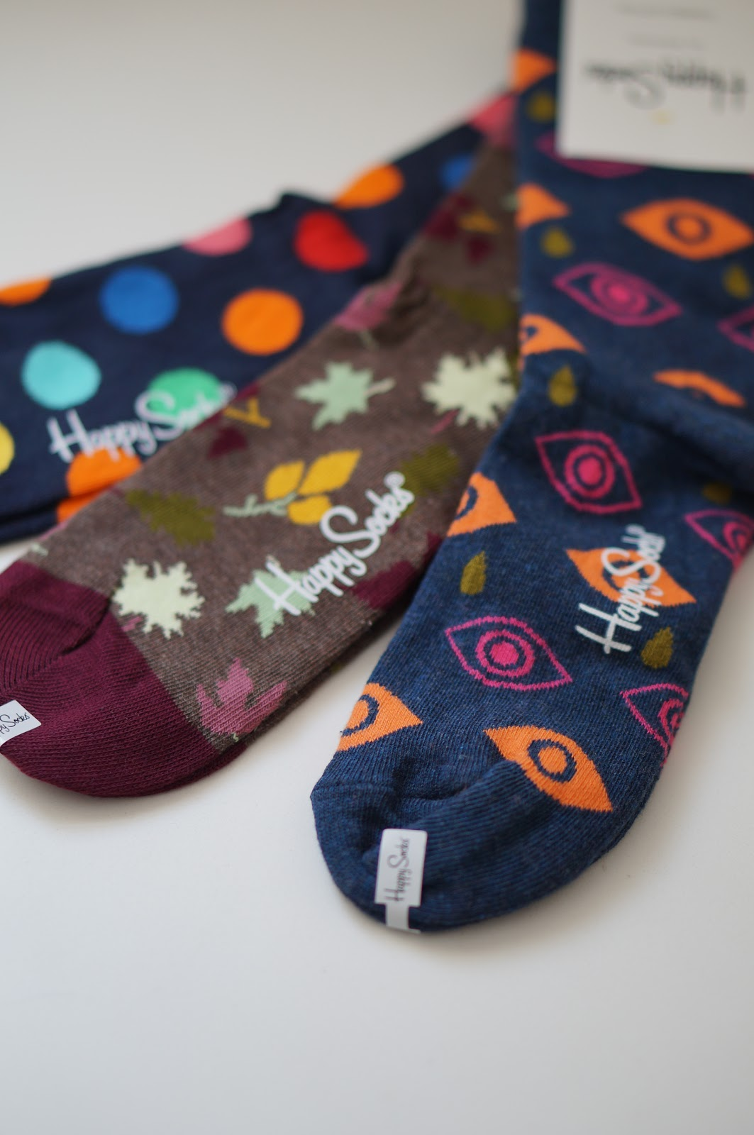 Rebecca Lately Happy Socks Fall Socks