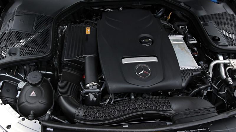 2018 Mercedes-Benz C300 Cabriolet Engine