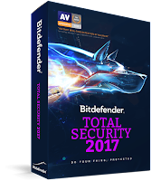 Bitdefender Total Security 2017 With Key