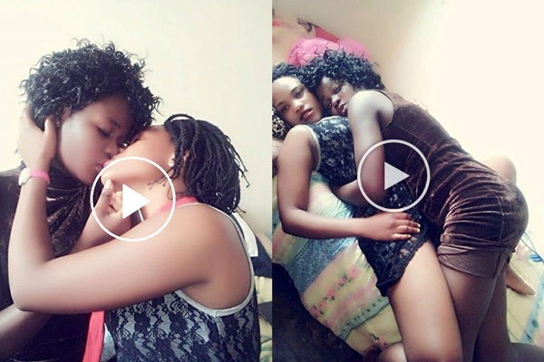 OMG! Two Covenant University Babe$ Share Ste@my K!ssing B3droom Video