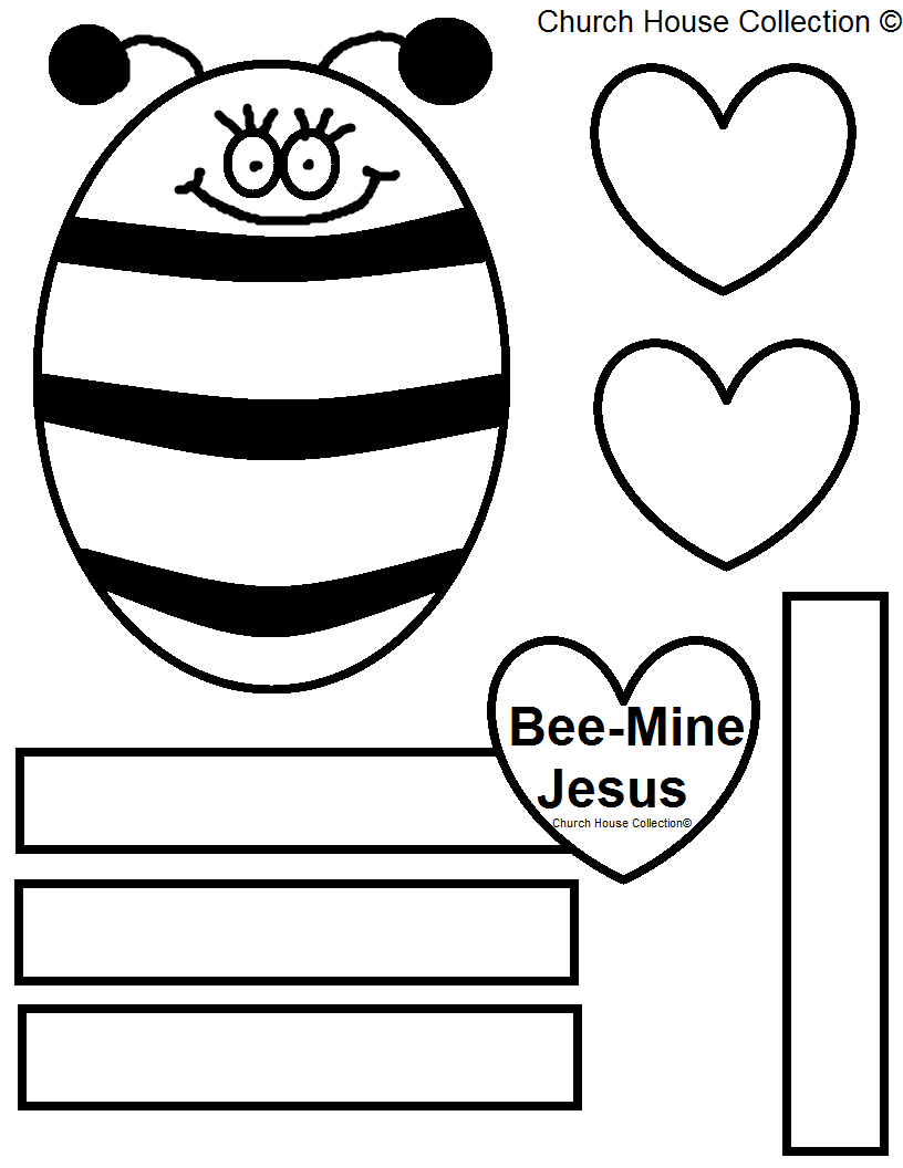 Church House Collection Blog Bee Mine Jesus Bulletin