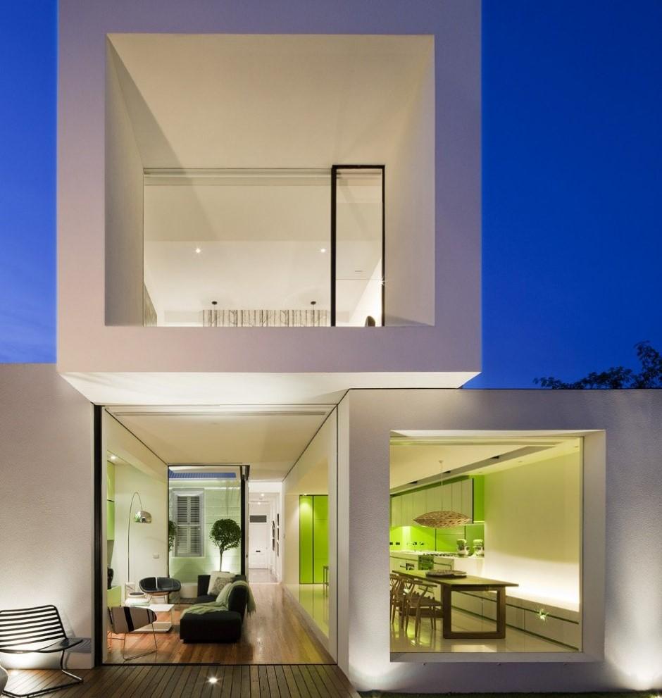 Strane case strane vite una casa minimal unica e compatta for Casa minimal