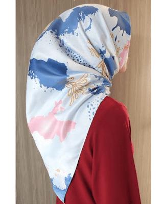 Kekinian Hijab Motif Super Kece Untuk Ramadhan 2019, Jangan Sampai Ketinggalan