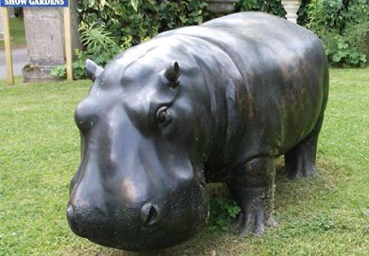 Giant Hippopotamus Statue Goes Missing in Kent