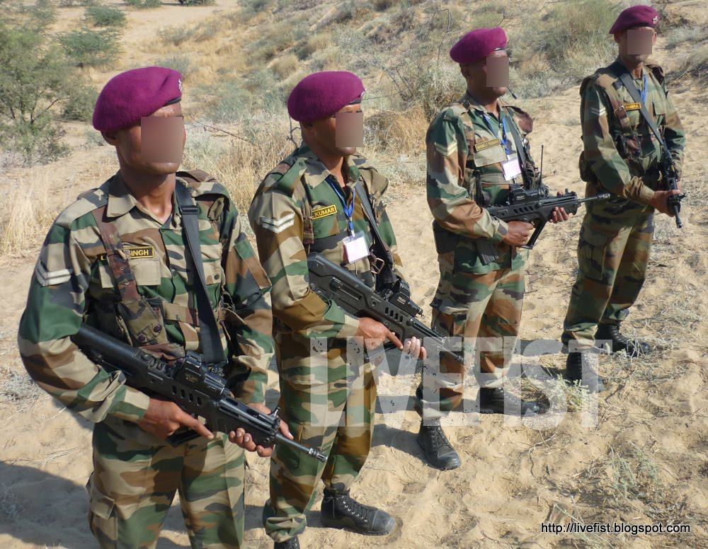 PHOTOS: Tavors With Indian Para Commandos