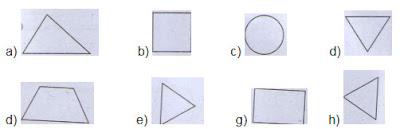 Bài 1, Bài 2 trang 10 SGK Toán 1 Tập 1 - Luyện tập về hình tam giác
