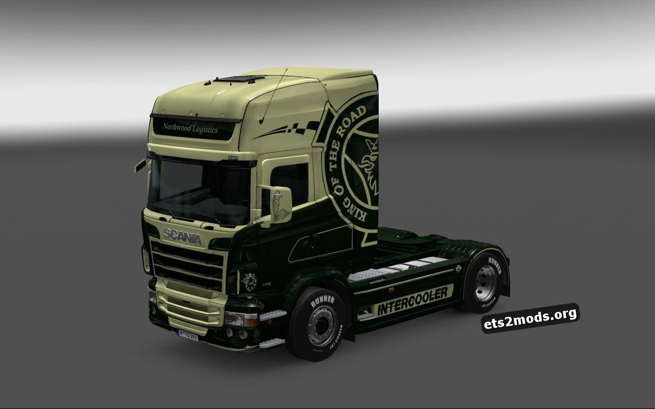 Scania RJL Northwood Logistics Skin
