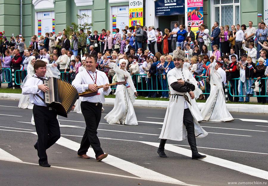 Тысячелетие единения мордвы с народами России. Театрализованный парад *Все мы Россия*