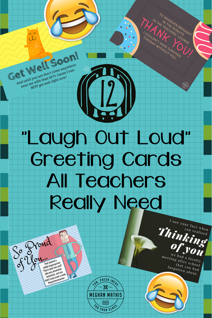 12 lol greeting cards all teachers really need fun fresh ideas who would you send a teacher greeting card for what reason let me know in the comments below kristyandbryce Gallery