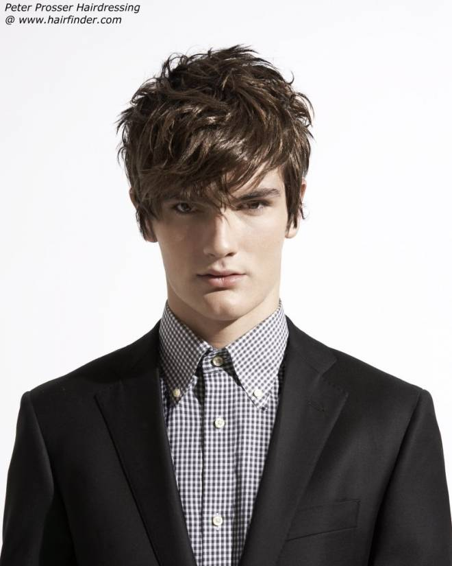 Prom Hairstyles Men: Men's Hair Styles - Modern Men Haircut Idea