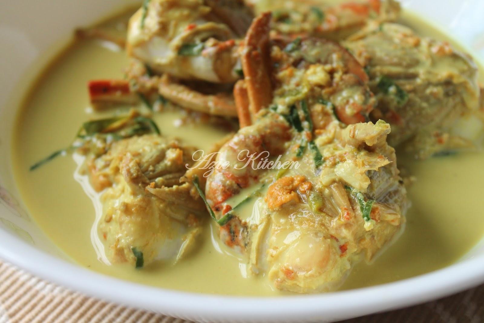 Masak Lemak Cili Padi Ketam Azie Kitchen