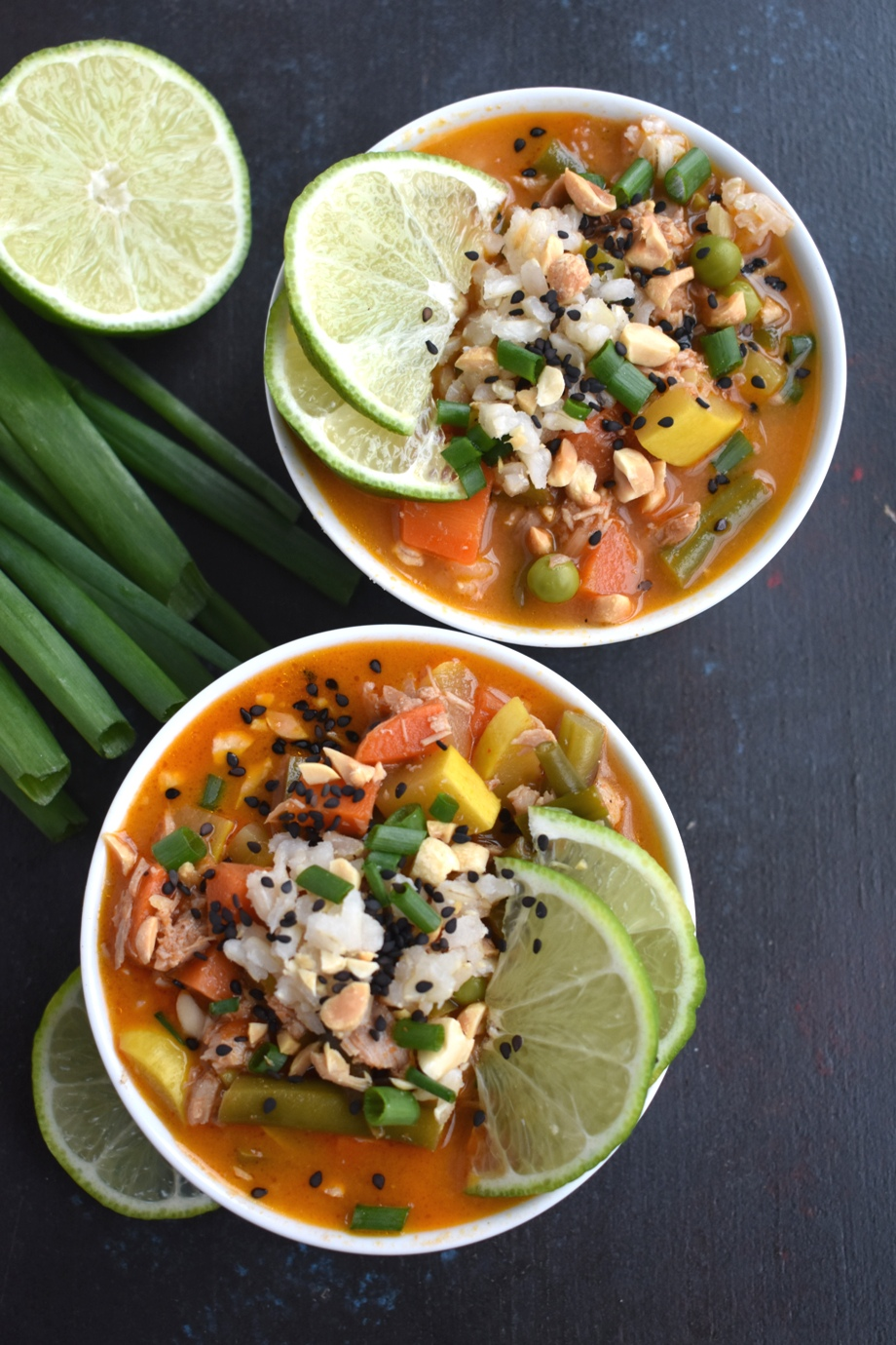 Thai Coconut Vegetable Soup