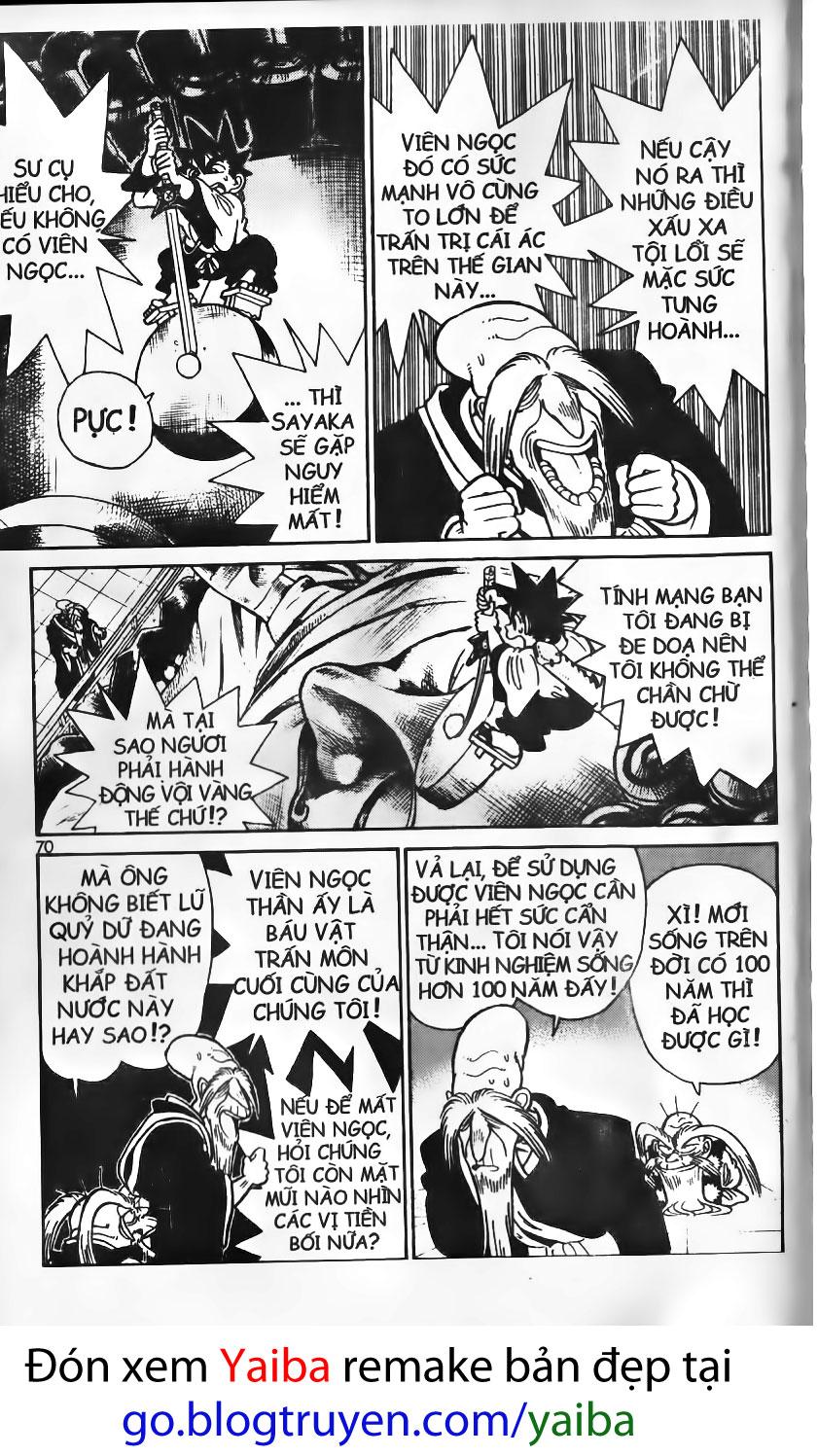 Yaiba chap 83 trang 13