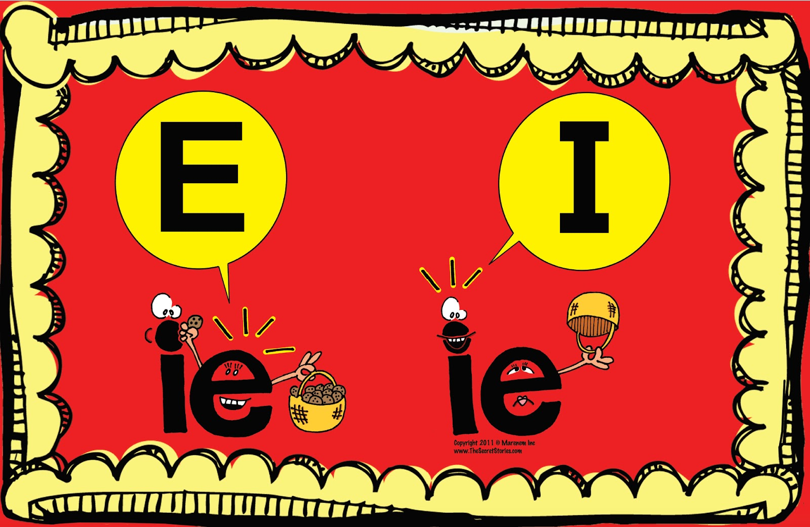 I E Phonics Pictures