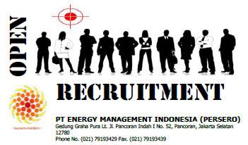 Lowongan Kerja BUMN PT. EMI Bulan Maret Penempatan Jakarta