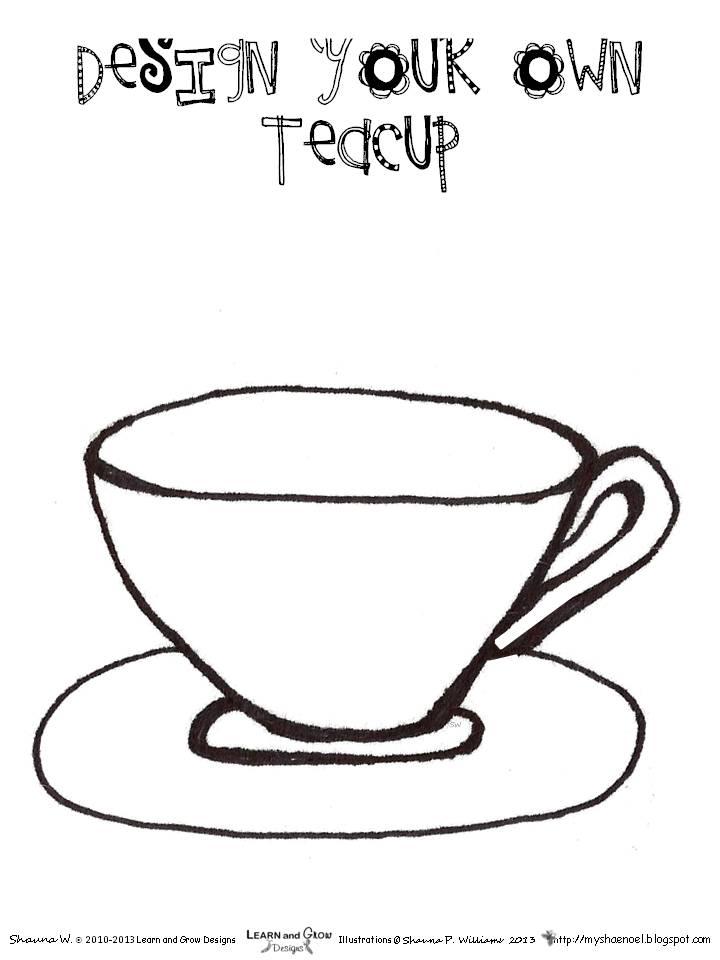 Learn and Grow Designs Website: I'm a Little Teapot Art