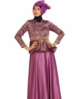 Foto Baju Kebaya Songket Nuansa Muslim