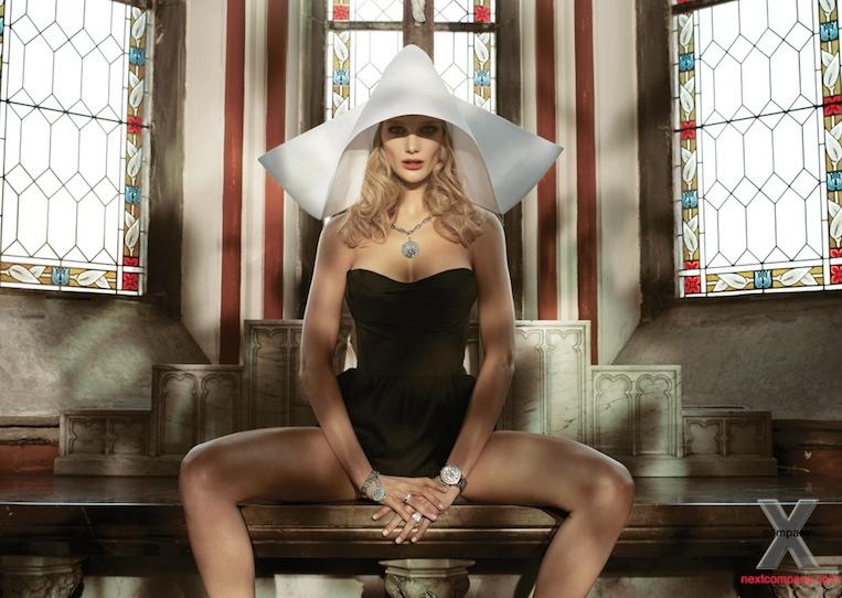 Zuzana Straska poses for Klenoty Aurum 2011 Campaign