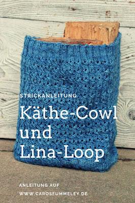 Strickanleitung: Käthe-Cowl und Lina-Loop