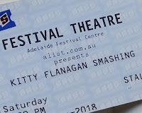 "Festival Theatre ticket for the Kitty Flanagan show called ""Smashing"""