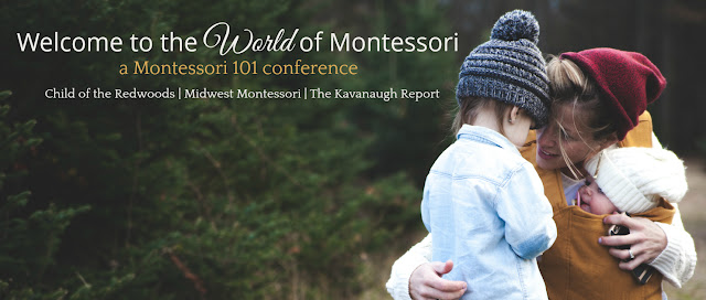 Welcome to the World of Montessori - join us for a free online Montessori conference January 5, 6, 7th 2018!