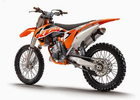 Gambar Motor Cross KTM Yang Cerah Berwarnawarni  Koleksi