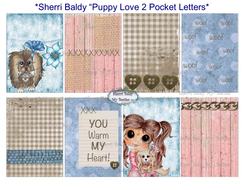 Bestie Pocket Letter Instant Download