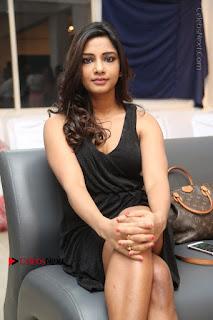 Telugu Actress Kamna Singh Stills in Black Dress at Bharat Thakur Art Exhibition Launch  0150.jpg