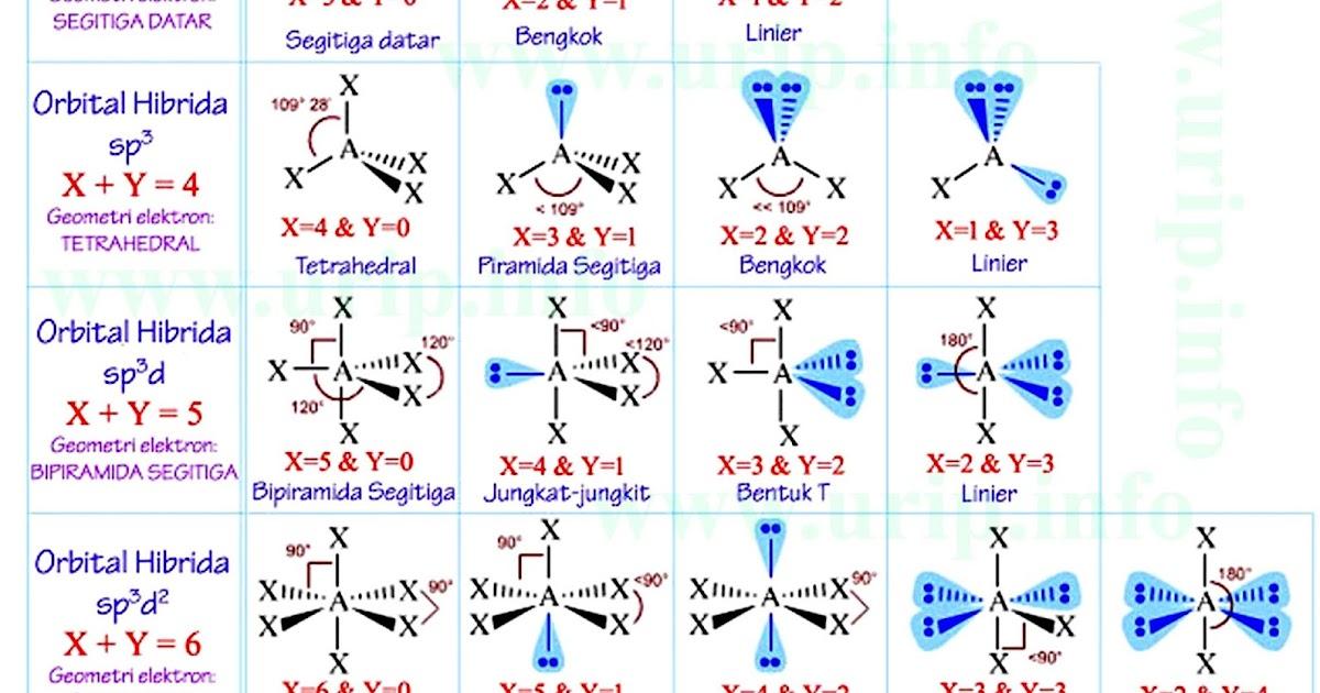 81 Gambar Bentuk Molekul Paling Hist