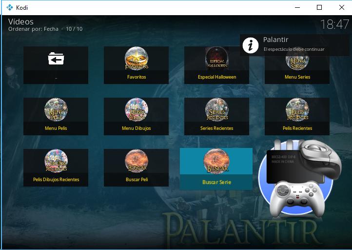 Kodi + Palantir es mejor que NETFLIX y GRATIS !!!