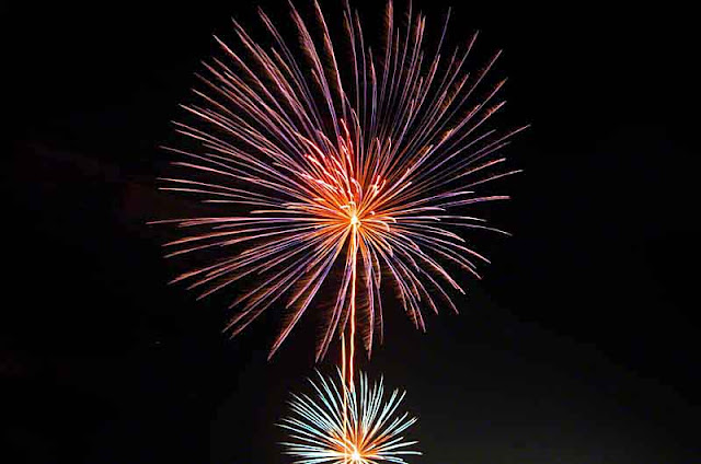 fireworks, festival, Okinawa, Japan, Kin Town