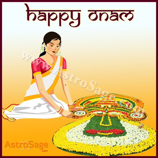 Thiruvonam is the main day of the Onam festival.