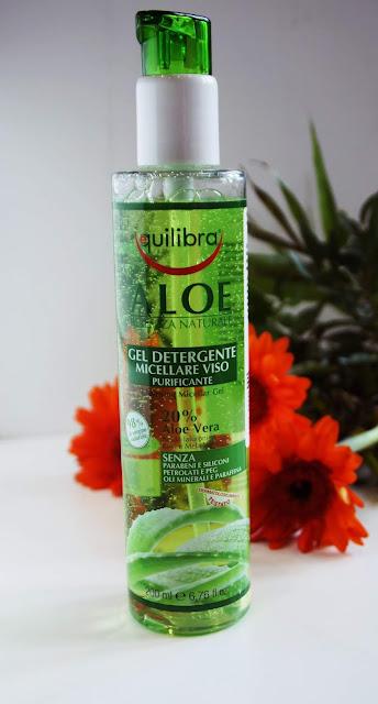 EQUILIBRA - Aloesowy Oczyszczający Żel Micelarny , aloes, płyn micelarny, naturalność