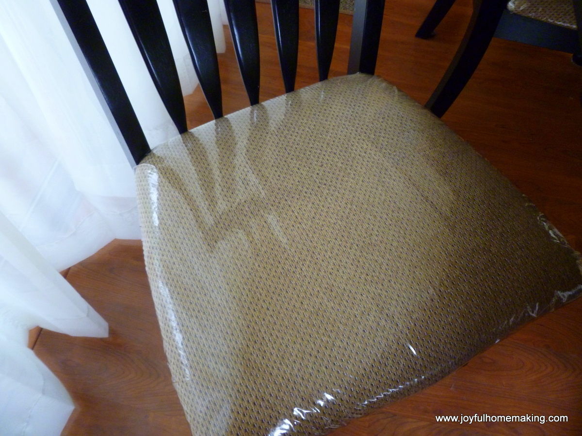 Plastic Seat Covers For Dining Room Chairs Protecting Your Dining Table Chairs Joyful Homemaking