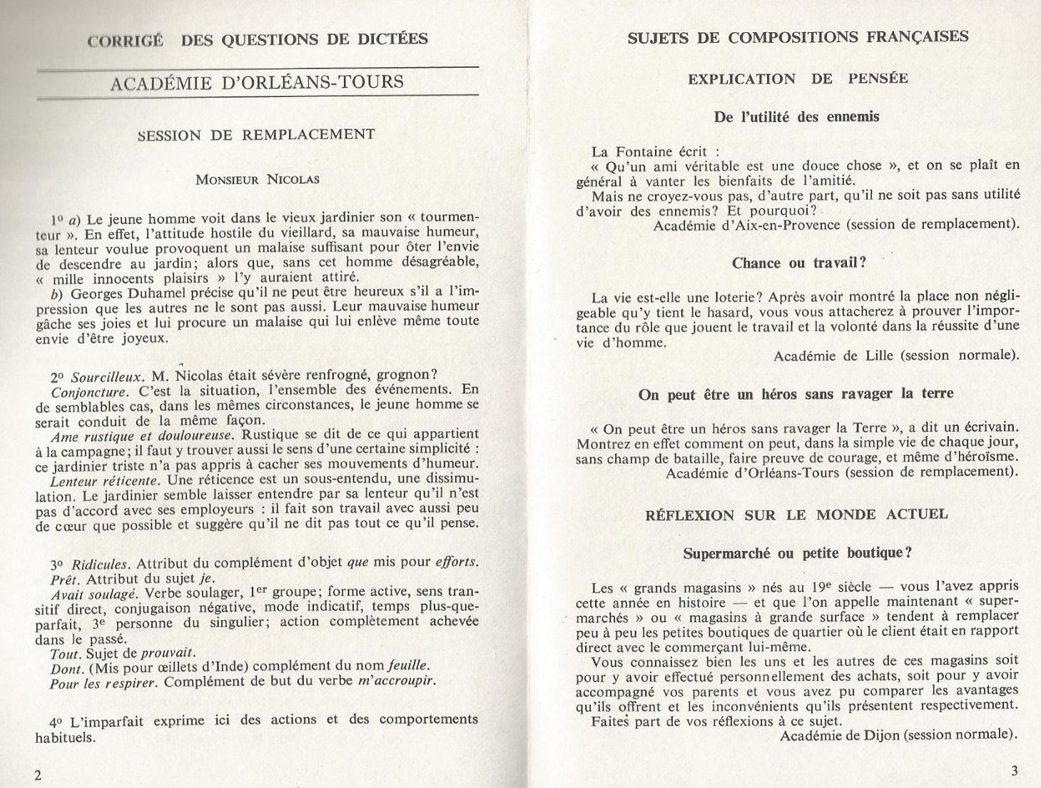 Manuels anciens: Jean Maitron, 60 dictées suivies de questions