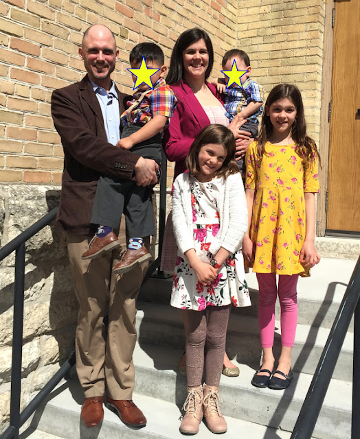 Cavey Family Easter Photo 2019 in Winnipeg Manitoba Canada