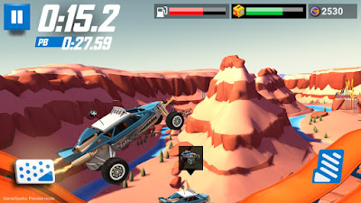 Gameplay Hot Wheels: Race Off Android Full With Mod Fetures