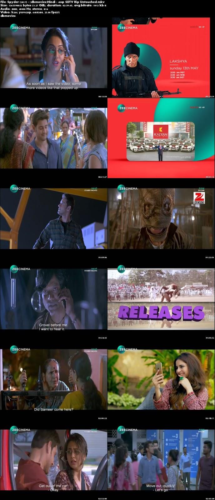 screen shot Spyder 2017 Full Movie Download Hindi 720p Free