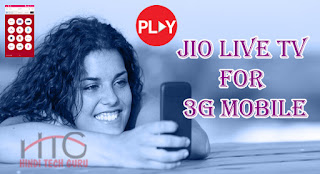 jio live tv for 3g mobile