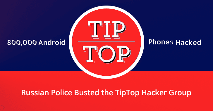 TipTop hacker group
