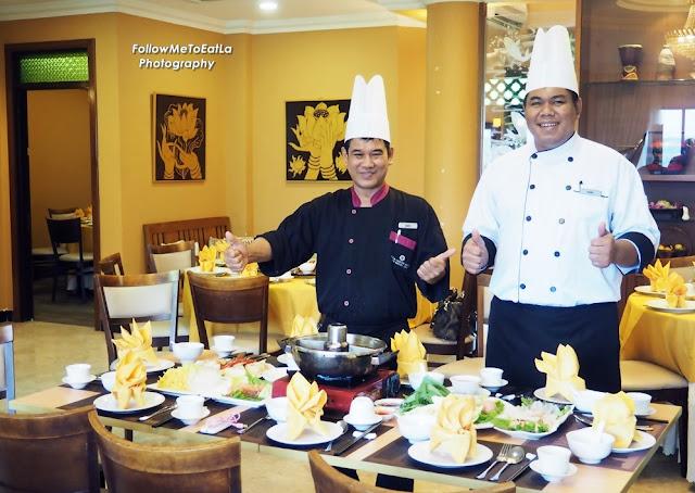 Thai Chef Seeri & His Assistant Chef Randy