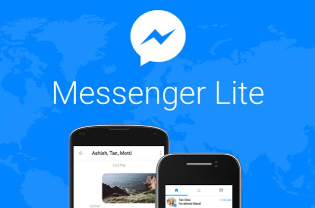 Facebook Messenger Lite المصمَّم للشبكات الضعيفة، متوفر أخيرا في الهند