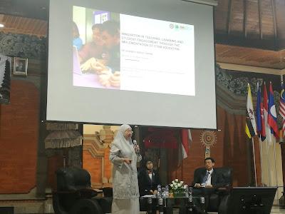 Pembentangan hebat dari Dr Habibah mengenai STEM di Malaysia