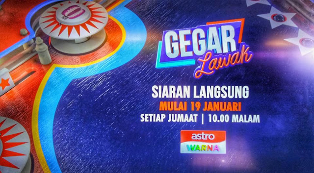 Live Streaming Tirai Gegar Lawak 2018