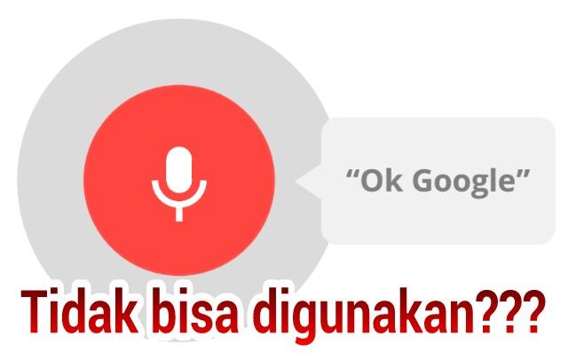 Cara Mengatasi Fitur OK Google Yang Tidak Bisa Digunakan