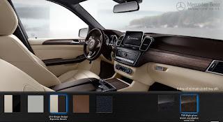 Nội thất Mercedes GLE 400 4MATIC Exclusive 2017 màu Vàng Ginger/Đen 245