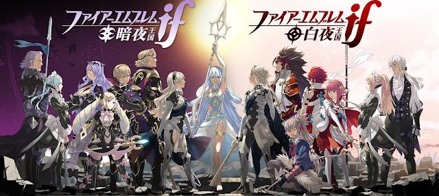 Fire Emblem If Fates character art Nohr Hoshido renders