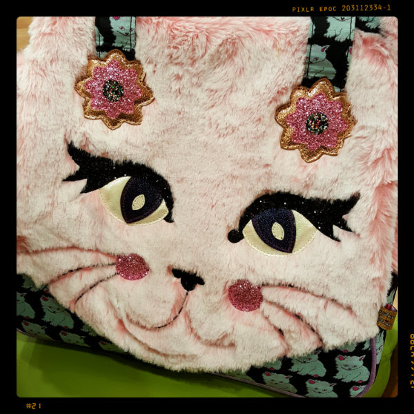 irregular choice cat call bag