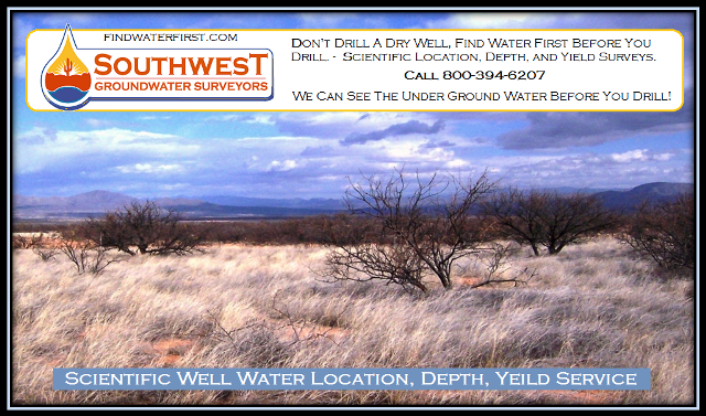 Finding Well Water is What We Do Well.