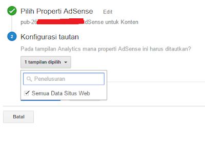 Cara Simple Menautkan Adsense dengan Google Analytics 17